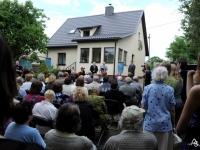 Brazauskų namų-muziejaus atidarymas 2011 m. liepos 2 d.