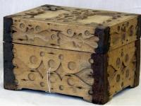 Skrynelė skarelėms sudėti XX a. I p. Žiežmarių sen.
