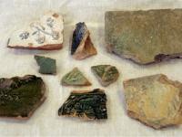 Koklių fragmentai XVII - XVIII a. Buvęs Paparčių dominikonų vienuolynas