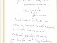 2016 m. gegužės 25 d. ant Mergakalnio Dovainonyse premija įteikta Jonui Liniauskui už eilėraščių knygą Sutartinė (Kaunas: Kauko laiptai, 2015)