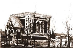 Kaišiadorių cerkvė Nugriauta ~1922 m.