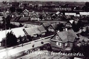 Kaišiadorių bendras vaizdas (Maironio g.)
