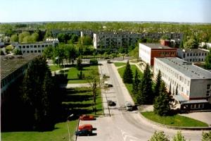 Kaišiadorių miesto centras (Bažnyčios g.) 2000 m.