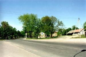 Gedimino gatvės pradžia 2000 m.