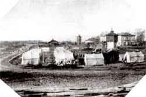 Plento pradžia ir Kaišiadorių geležinkelio stotis