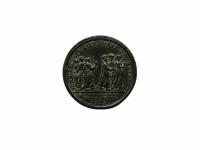 10. Medalis. Popiežius Klemensas XIV. 1773 m. Sidabras, varis, Ø 33,5 mm. Fot. Asta Sabonytė (reversas)