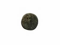 2. Moneta. Sestercijus. Antoninas Pijus (138–161). Romos Imperija. Bronza, Ø 28,4 mm. Rastas Kalviuose, Kaišiadorių r.  Fot. Asta Sabonytė  (reversas)