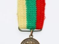 35. Medalis. Vytauto Didžiojo mirties 500-ųjų metinių atminimo. Lietuva. 1930 m. Bronza, Ø 25 mm. Galimai priklausė Nepriklausomybės kovų savanoriui Juozui Lelešiui (1903–1996). Fot. Nijolė Adukonienė (aversas)