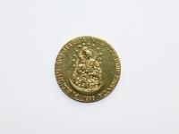 45. Medalis. Pivašiūnų Švč. Marija nuliūdusiųjų paguoda. Skirtas Pivašiūnų Žolinės atlaidams pažymėti, kurie rengiami nuo 1988 m. Lietuva. 1988 m. Žalvaris, Ø 35 mm. Fot. Nijolė Adukonienė (aversas)