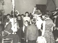 Susitikimas su Seniu Šalčiu Kaišiadorių kultūros centre. 1981 m.