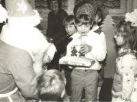 Senio Šalčio dovanos. Stasiūnų vaikų darželis. 1984 m.