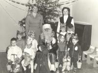 Su Seniu Šalčiu. Rumšiškių vaikų darželis. 1984–1985 m.