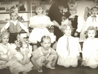 Stasiūnų vaikų darželyje. 1981 m.