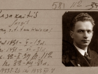 13. Trakų (Kaišiadorių) skautų tunto tuntininkas (nuo 1931 m. iki 1934 m.), teisėjas Jurgis Kasakaitis. (LCVA)