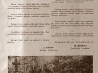 15. Lietuvos skautų sąjungos įstatymas. Skautų aidas. 1930 m.