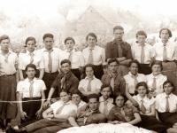 """18. Žiežmarių žydų skautų """"Hašomer Hacair"""" ir kitos organizacijos nariai. XX a. 4 deš."""