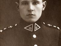 38. Trakų (Kaišiadorių) srities garbės skautas – 1929 m. žuvęs Lietuvos kariuomenės karininkas Pranas Gudynas. (LAM)