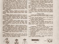 52. Skautų uniformos aprašymas. Skautų aidas. 1938 m.
