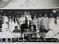 Lietuvos karinių jūrų pajėgų sąjungos šventinis vaidinimas. Rumšiškės. 1935 m. gruodžio 25 d.