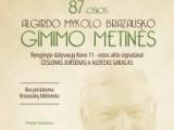 Minėsime Algirdo Mykolo Brazausko 87-ąsias gimimo metines