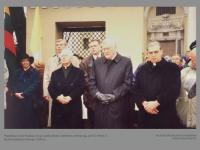 Popiežiaus Jono Pauliaus II-ojo vardo aikštei suteikimo ceremonija prie Šv. Petro ir Povilo bažnyčios Vilniuje. 1994 m.