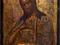 """Ikona. """"Šv. Jonas Krikštytojas"""". XX a."""