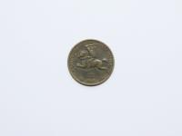 29. Moneta. 20 centų. Lietuva. 1925 m. Aliumininė bronza, Ø 23 mm. Fot. Nijolė Adukonienė (aversas)