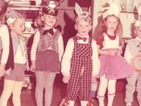 Gudienos vaikų darželyje. 1989 m.