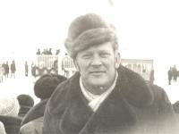 Sartų žirgų lenktynės Dusetose. 1974 m.