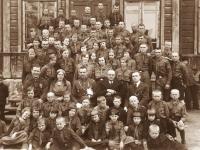 17. Trakų (Kaišiadorių) skautų tuntas. Apie 1935 m.