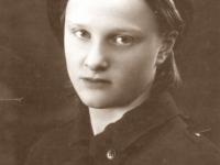 19. Trakų (Kaišiadorių) skautų tunto skautė. 1938 m. (KšM)