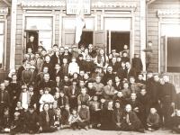 4. Kaišiadorių skautai vidurinėje mokykloje. 1928–1929 m.